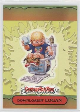 2004 Topps Garbage Pail Kids All-New Series 3 [???] #10 - Downloadin' Logan