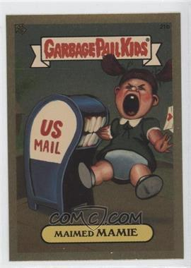 2004 Topps Garbage Pail Kids All-New Series 3 [???] #21b - Maimed Mamie