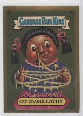 2004 Topps Garbage Pail Kids All-New Series 3 [???] #24a - Cat-cradle Cathy
