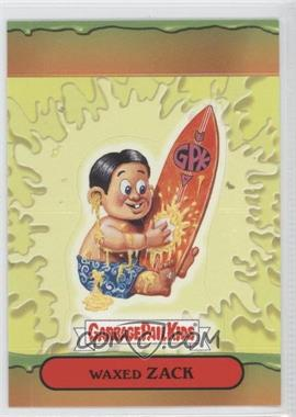 2004 Topps Garbage Pail Kids All-New Series 3 [???] #9 - Waxed Zack