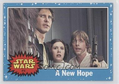 2004 Topps Star Wars Heritage - Promos #P4 - A New Hope