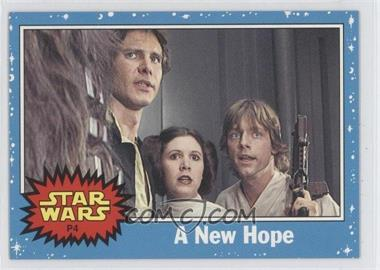 2004 Topps Star Wars Heritage [???] #P4 - A New Hope