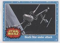 Death Star under attack