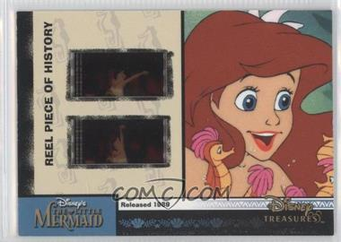 2004 Upper Deck Entertainment Disney Treasures 2 (Donald Duck) - Reel Piece of History #PH14 - The Little Mermaid