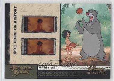 2004 Upper Deck Entertainment Disney Treasures 2 (Donald Duck) - Reel Piece of History #PH19 - The Jungle Book