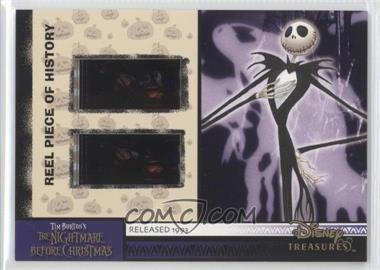 2004 Upper Deck Entertainment Disney Treasures 3 (Winnie the Pooh) Reel Piece of History #PH24 - The Nightmare Before Christmas