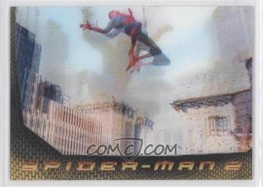 2004 Upper Deck Entertainment Spider-Man 2 Lenticular #L2 - Spider-Man 2