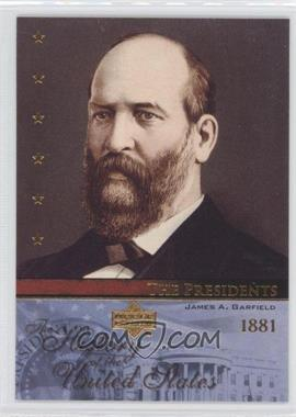 2004 Upper Deck The History of the United States [???] #TP20 - James A. Garfield
