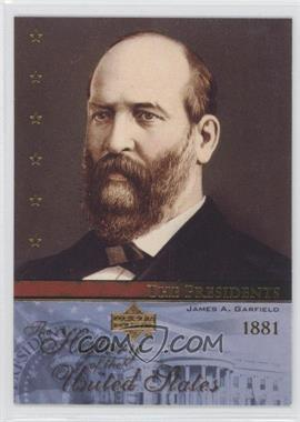 2004 Upper Deck The History of the United States #TP20 - The Presidents - James A. Garfield