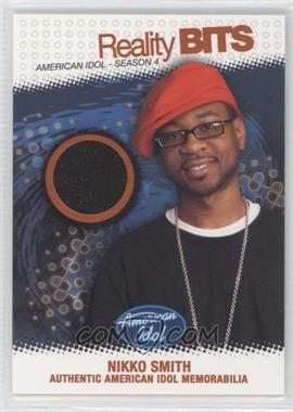 2005 Fleer American Idol: Season 4 Reality Bits Gold #RB-N/A - [Missing] /25