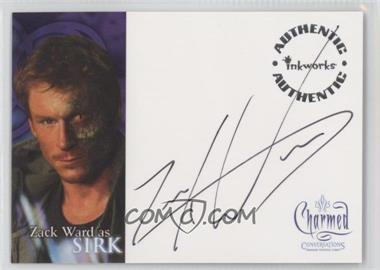 2005 Inkworks Charmed: Coversations [???] #A-9 - Zack ward as Sirk