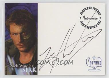 2005 Inkworks Charmed: Coversations Autographs #A-9 - Zack ward as Sirk