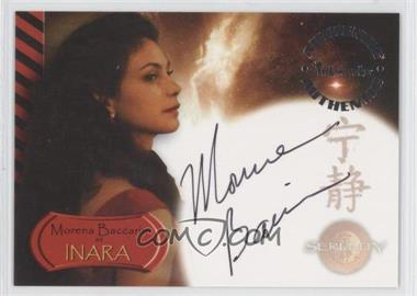 2005 Inkworks Serenity Autographs #A6 - Morena Baccarin