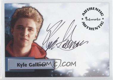 2005 Inkworks Smallville Season 4 [???] #A33 - Kyle Gallner as Bart Allen