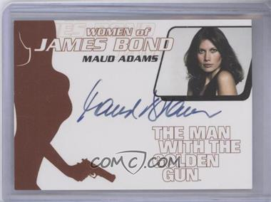 2005 Rittenhouse James Bond: Dangerous Liaisons Women of James Bond Autographs #WA26 - Maud Adams as Andrea Anders