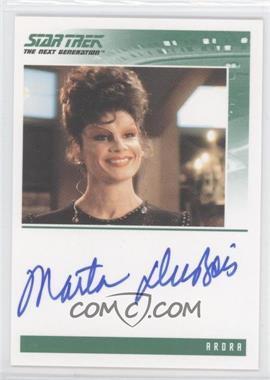 "2005 Rittenhouse The ""Quotable"" Star Trek: The Next Generation - Autographs #N/A - Marta DuBois as Arora"