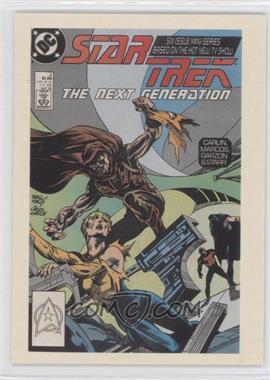 "2005 Rittenhouse The ""Quotable"" Star Trek: The Next Generation Comic Books #CB4 - Lt. Geordi LaForge"