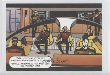 "2005 Rittenhouse The ""Quotable"" Star Trek: The Next Generation Comic Books #CB6 - Lt. Commander Data"