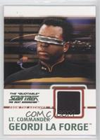 Lt. Commander Geordi La Forge