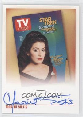 "2005 Rittenhouse The ""Quotable"" Star Trek: The Next Generation TV Guide Covers #TV1 - Marina Sirtis as Counselor Deanna Troi"