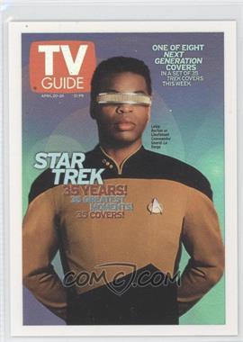"2005 Rittenhouse The ""Quotable"" Star Trek: The Next Generation TV Guide Covers #TV4 - LeVar Burton as Lt. Commander Geordi La Forge"