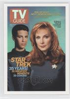 Wil Wheaton as Ensign Wesley Crusher, Gates McFadden as Dr. Beverly Crusher