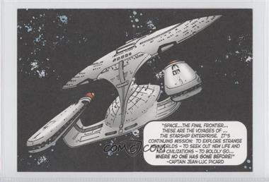 "2005 Rittenhouse The ""Quoteable"" Star Trek: The Next Generation Comic Books #CB1 - Captain Jean-Luc Picard"