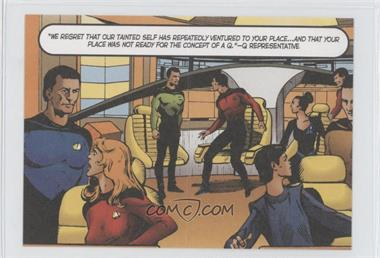 "2005 Rittenhouse The ""Quoteable"" Star Trek: The Next Generation Comic Books #CB4 - Lt. Geordi LaForge"