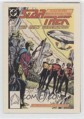 "2005 Rittenhouse The ""Quoteable"" Star Trek: The Next Generation Comic Books #CB6 - Lt. Commander Data"