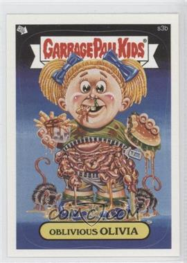 2005 Topps Garbage Pail Kids All-New Series 4 - Scratch 'n Stink #s3b - Oblivious Olivia