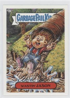 2005 Topps Garbage Pail Kids All-New Series 4 - Scratch 'n Stink #s4b - Wastin' Jason