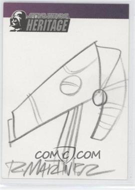 2005 Topps Star Wars: Revenge of the Sith Sketch Cards #1 - [Missing] /1