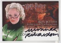 Miranda Richardson as Rita Skeeter