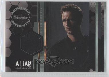 2006 Inkworks Alias Season 4 - Pieceworks #PW7 - Michael Vartan as Michael Vaughn