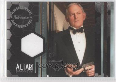 2006 Inkworks Alias Season 4 Pieceworks #PW10 - Victor Garber as Jack Bristow