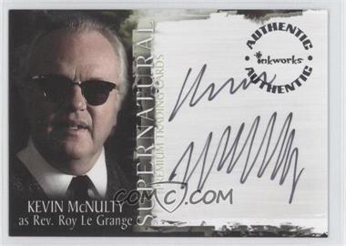 2006 Inkworks Supernatural Season 1 Autographs #A-7 - Kevin McNulty as Rev. Roy Le Grange