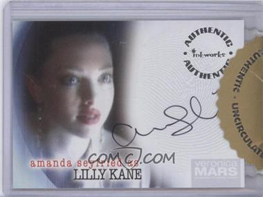 2006 Inkworks Veronica Mars Season 1 Autographs #A-6 - Amanda Seyfried as Lilly Kane