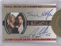 Tricia Helfer as Number Six, James Callis as Dr. Gaius Baltar (6 case Incentive…