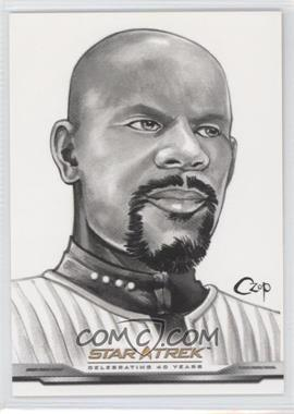 2006 Rittenhouse Star Trek: Celebrating 40 Years ArtiFEX Bridge Crew #FP19 - Captain Benjamin Sisko