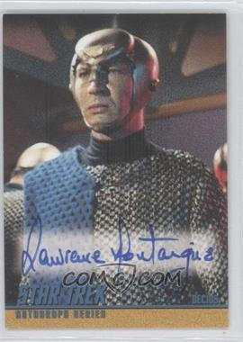 2006 Rittenhouse Star Trek The Original Series: 40th Anniversary Series 1 - Autographs #A107 - Lawrence Montaigne as Decius