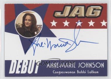 2006 TK Legacy JAG Premiere Edition - Debut Autographs #D23 - Anne-Marie Johnson as Congresswoman Bobbi Latham