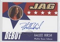 Hallee Hirsh as Mattie Grace Johnson