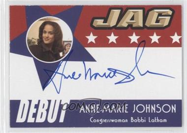 2006 TK Legacy JAG Premiere Edition Debut Autographs #D23 - Anne-Marie Johnson as Congresswoman Bobbi Latham