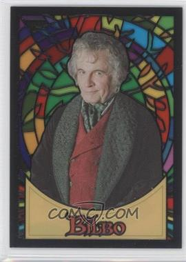 2006 Topps Lord of the Rings Evolution Stained Glass #S2 - Bilbo Baggins