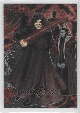 2006 Topps Star Wars Evolution Update Edition - Etched Foil #5 - Emperor Palpatine