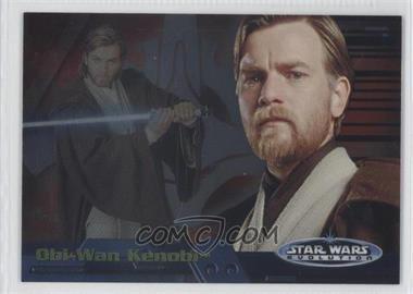 2006 Topps Star Wars Evolution Update Edition - Evolution A #14A - Obi-Wan Kenobi