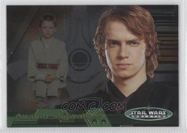 2006 Topps Star Wars Evolution Update Edition - Evolution B #1B - Anakin Skywalker