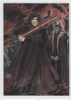 2006 Topps Star Wars Evolution Update Edition Etched Foil #5 - Emperor Palpatine