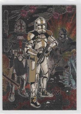 2006 Topps Star Wars Evolution Update Edition Etched Foil #6 - [Missing]