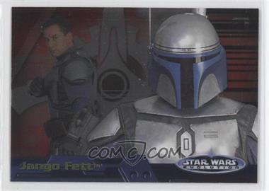 2006 Topps Star Wars Evolution Update Edition Evolution A #11A - Jango Fett